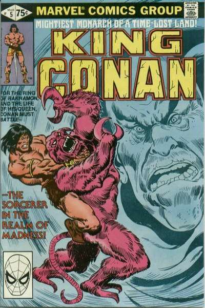 King Conan #5 Comic Books - Covers, Scans, Photos  in King Conan Comic Books - Covers, Scans, Gallery