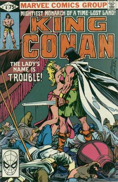 King Conan #6 Comic Books - Covers, Scans, Photos  in King Conan Comic Books - Covers, Scans, Gallery