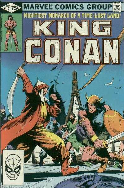 King Conan #7 Comic Books - Covers, Scans, Photos  in King Conan Comic Books - Covers, Scans, Gallery