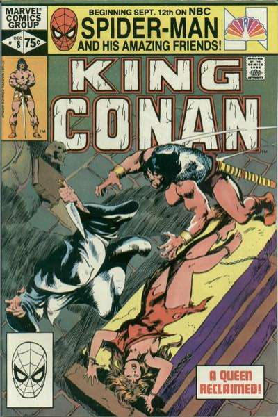 King Conan #8 comic books for sale