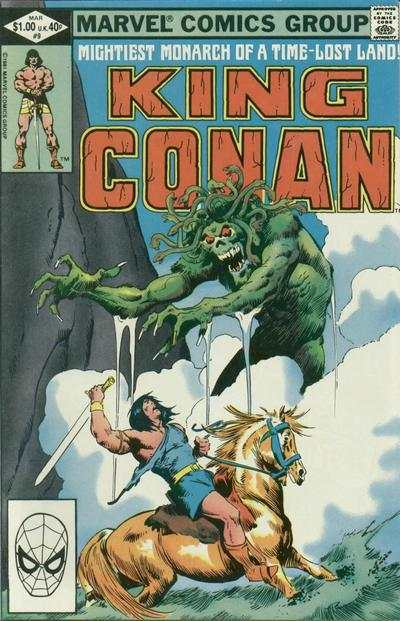 King Conan #9 comic books for sale