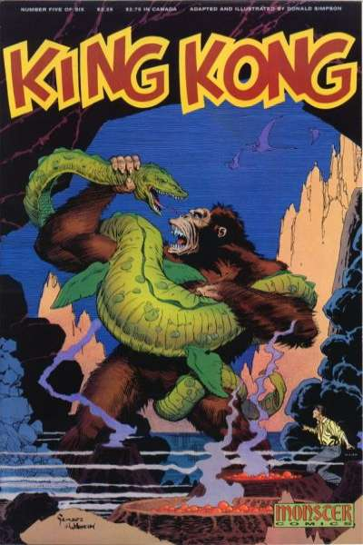 King Kong #5 comic books for sale