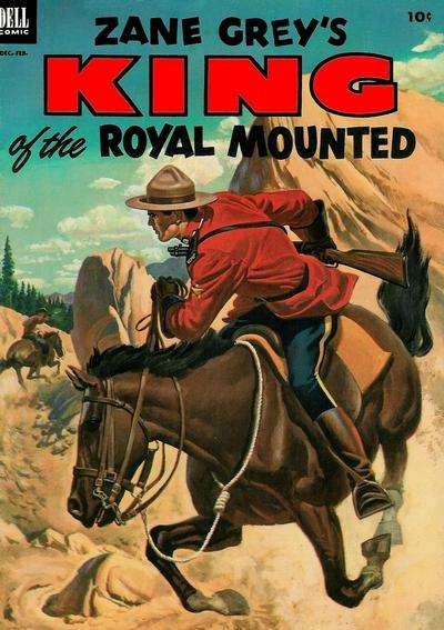 King of the Royal Mounted #10 Comic Books - Covers, Scans, Photos  in King of the Royal Mounted Comic Books - Covers, Scans, Gallery
