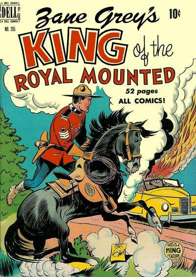 King of the Royal Mounted #2 comic books - cover scans photos King of the Royal Mounted #2 comic books - covers, picture gallery
