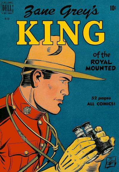 King of the Royal Mounted #3 Comic Books - Covers, Scans, Photos  in King of the Royal Mounted Comic Books - Covers, Scans, Gallery