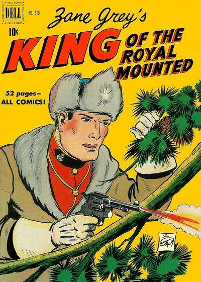 King of the Royal Mounted #4 Comic Books - Covers, Scans, Photos  in King of the Royal Mounted Comic Books - Covers, Scans, Gallery