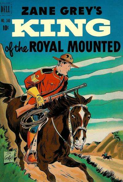 King of the Royal Mounted #5 comic books - cover scans photos King of the Royal Mounted #5 comic books - covers, picture gallery