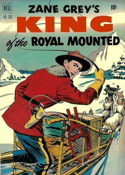King of the Royal Mounted #6 comic books - cover scans photos King of the Royal Mounted #6 comic books - covers, picture gallery