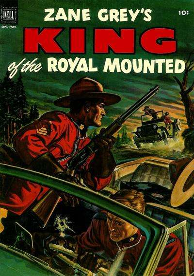 King of the Royal Mounted #9 Comic Books - Covers, Scans, Photos  in King of the Royal Mounted Comic Books - Covers, Scans, Gallery