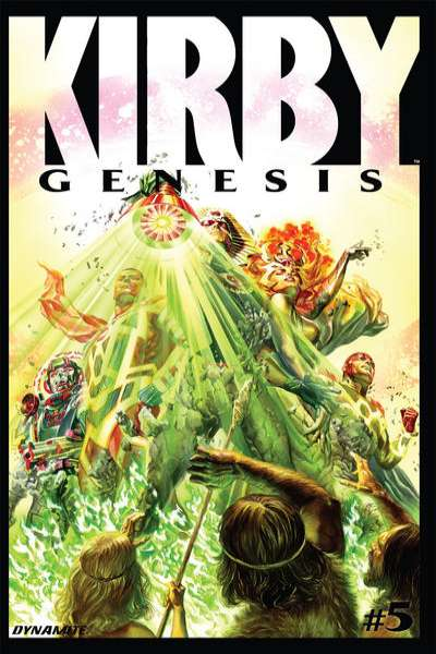 Kirby: Genesis #5 Comic Books - Covers, Scans, Photos  in Kirby: Genesis Comic Books - Covers, Scans, Gallery