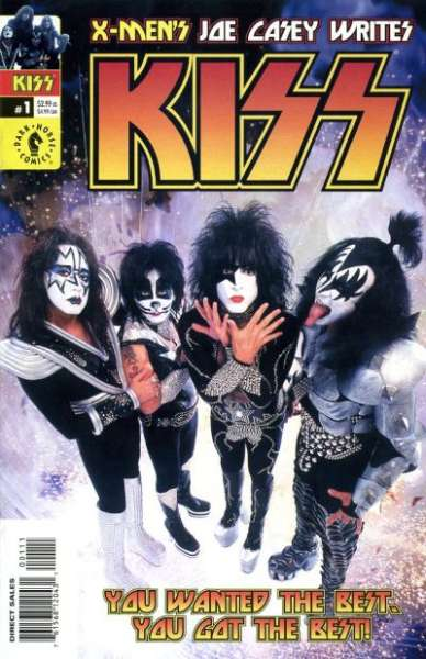 Kiss Comic Books. Kiss Comics.