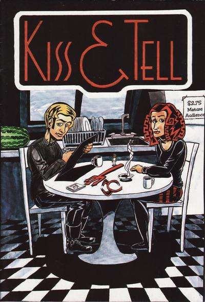 Kiss & Tell comic books