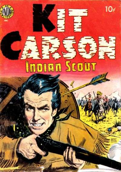 Kit Carson #1 comic books - cover scans photos Kit Carson #1 comic books - covers, picture gallery