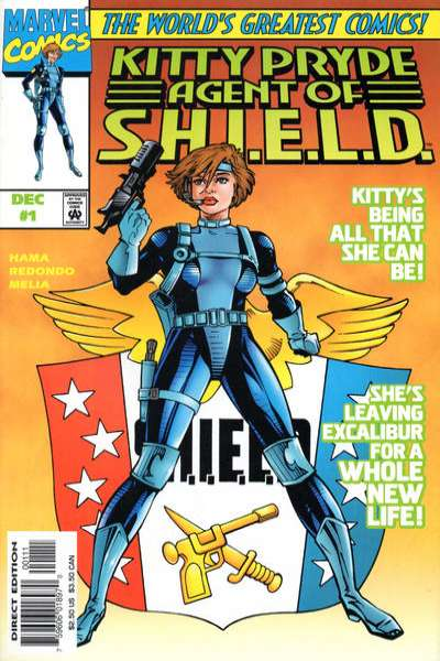 Kitty Pryde: Agent of S.H.I.E.L.D. #1 comic books for sale