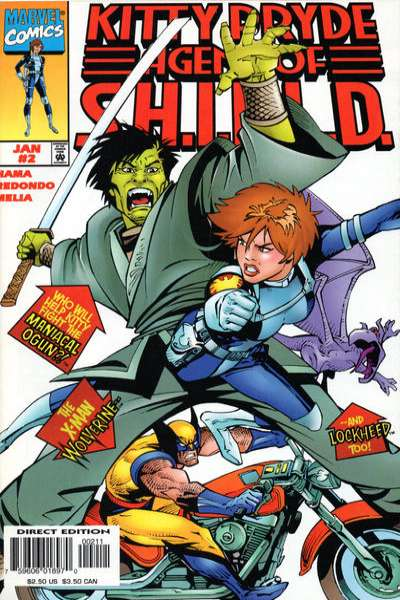 Kitty Pryde: Agent of S.H.I.E.L.D. #2 comic books for sale