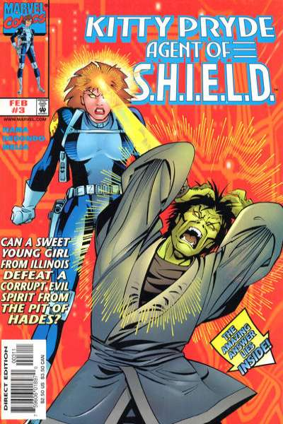 Kitty Pryde: Agent of S.H.I.E.L.D. #3 comic books for sale