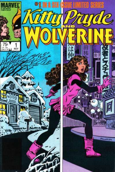 Kitty Pryde and Wolverine comic books