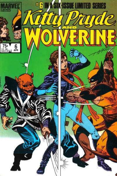 Kitty Pryde and Wolverine #6 comic books for sale