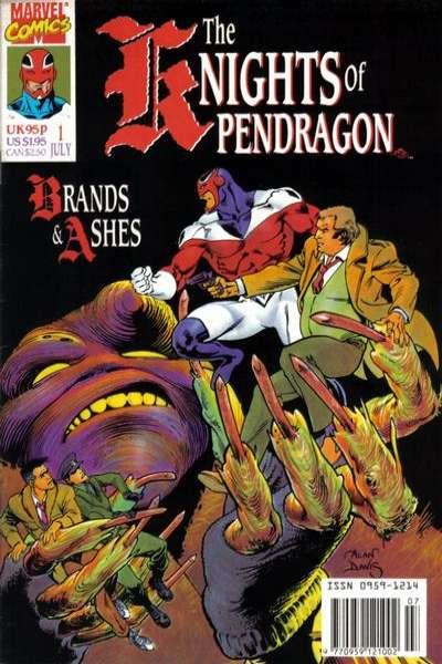 Knights of Pendragon comic books