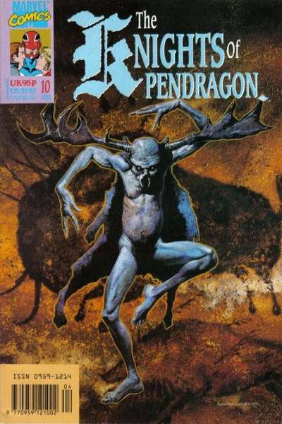 Knights of Pendragon #10 comic books for sale