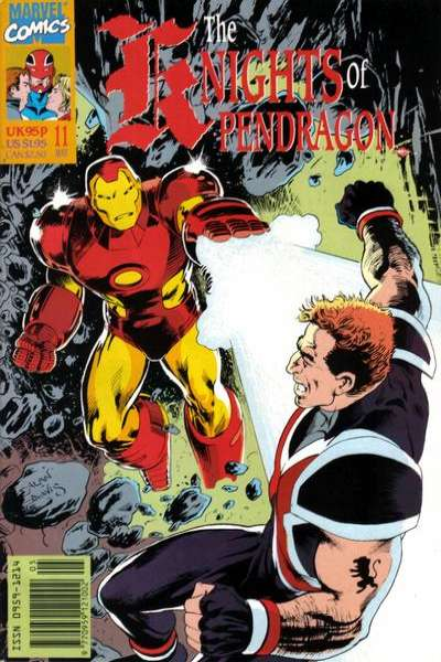 Knights of Pendragon #11 comic books for sale