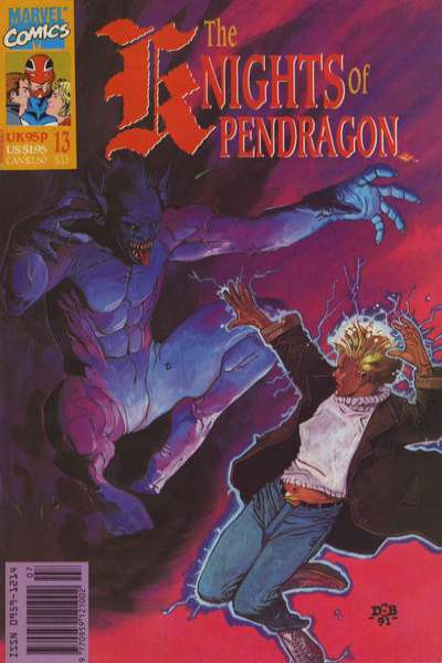 Knights of Pendragon #13 comic books for sale