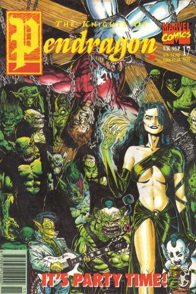 Knights of Pendragon #17 Comic Books - Covers, Scans, Photos  in Knights of Pendragon Comic Books - Covers, Scans, Gallery