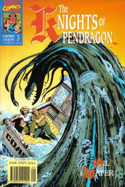 Knights of Pendragon #3 Comic Books - Covers, Scans, Photos  in Knights of Pendragon Comic Books - Covers, Scans, Gallery