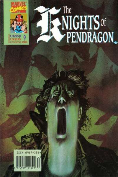Knights of Pendragon #9 comic books for sale