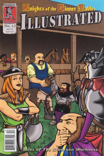 Knights of the Dinner Table Illustrated #12 comic books for sale