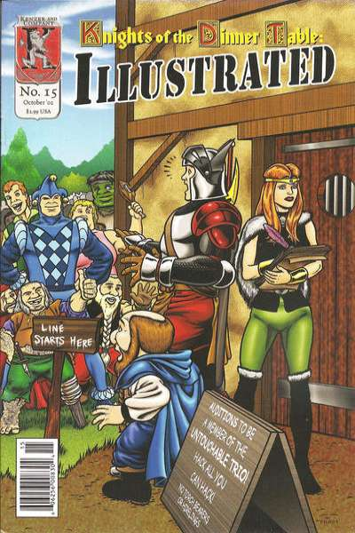 Knights of the Dinner Table Illustrated #15 comic books for sale