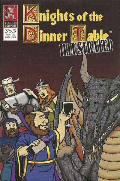 Knights of the Dinner Table Illustrated #5 Comic Books - Covers, Scans, Photos  in Knights of the Dinner Table Illustrated Comic Books - Covers, Scans, Gallery