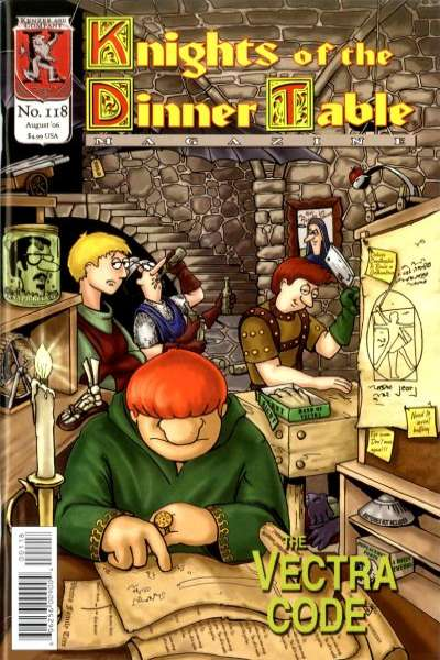 Knights of the Dinner Table #118 comic books - cover scans photos Knights of the Dinner Table #118 comic books - covers, picture gallery