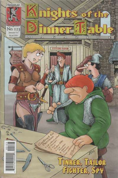 Knights of the Dinner Table #123 comic books for sale