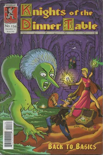 Knights of the Dinner Table #134 comic books for sale