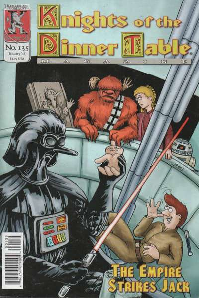 Knights of the Dinner Table #135 comic books for sale