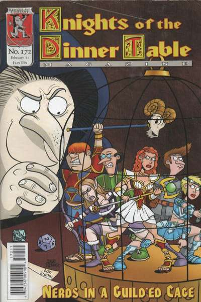 Knights of the Dinner Table #172 comic books for sale