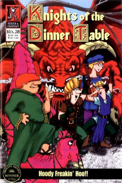 Knights of the Dinner Table #28 Comic Books - Covers, Scans, Photos  in Knights of the Dinner Table Comic Books - Covers, Scans, Gallery
