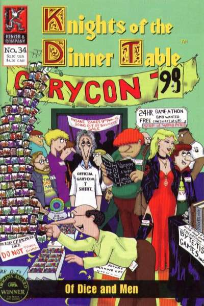 Knights of the Dinner Table #34 comic books for sale