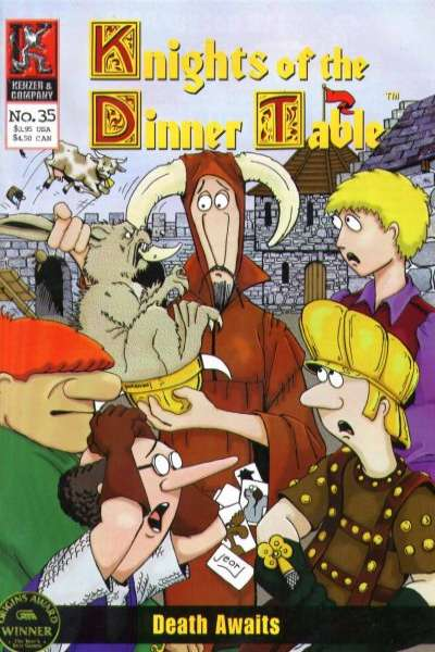 Knights of the Dinner Table #35 comic books for sale