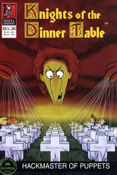 Knights of the Dinner Table #36 comic books - cover scans photos Knights of the Dinner Table #36 comic books - covers, picture gallery