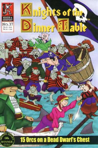 Knights of the Dinner Table #37 Comic Books - Covers, Scans, Photos  in Knights of the Dinner Table Comic Books - Covers, Scans, Gallery