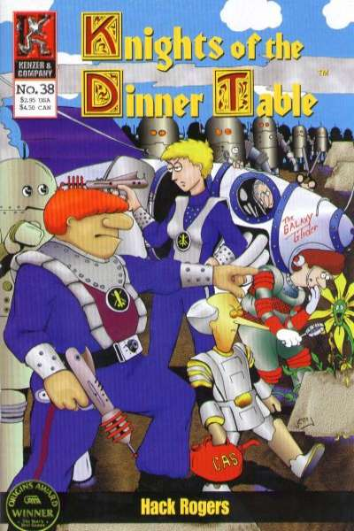 Knights of the Dinner Table #38 comic books - cover scans photos Knights of the Dinner Table #38 comic books - covers, picture gallery