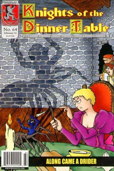 Knights of the Dinner Table #64 Comic Books - Covers, Scans, Photos  in Knights of the Dinner Table Comic Books - Covers, Scans, Gallery