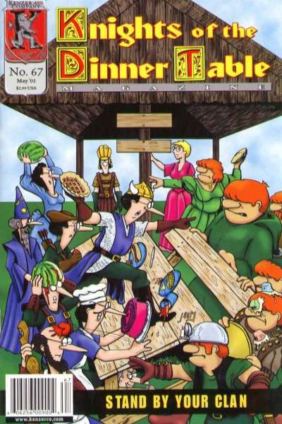 Knights of the Dinner Table #67 comic books for sale
