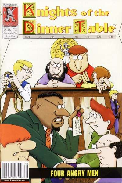 Knights of the Dinner Table #71 comic books for sale