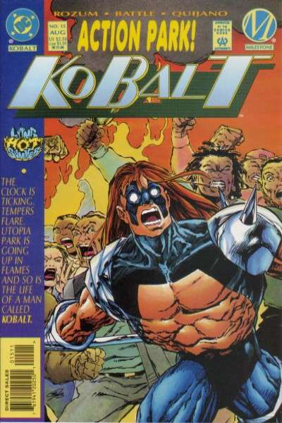 Kobalt #15 comic books for sale