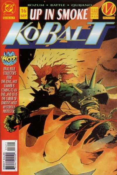Kobalt #16 comic books for sale