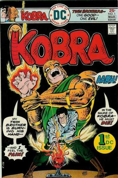 Kobra Comic Books. Kobra Comics.