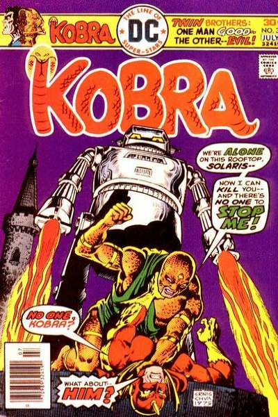 Kobra #3 comic books for sale